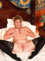 Popular searches: matures and pantyhose, mature lesbian nylon, pantyhose Busty mature lady in stockings spread her long sexy legs and shows pussy.